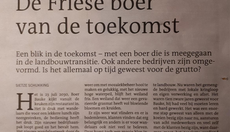De Friese Boer van de Toekomst